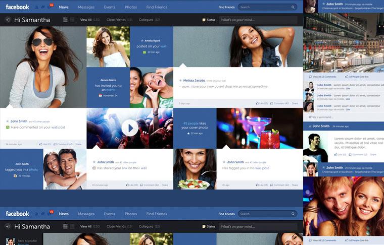 Konzept Facebook
